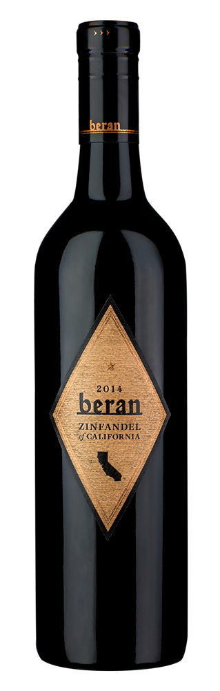 Beran California Zinfandel bottle shot