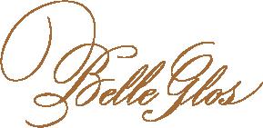 Belle Glos logo gold