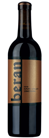 Beran Napa Valley Zinfandel bottle shot