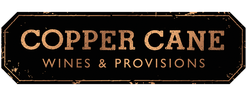 Copper Cane logo black and gold